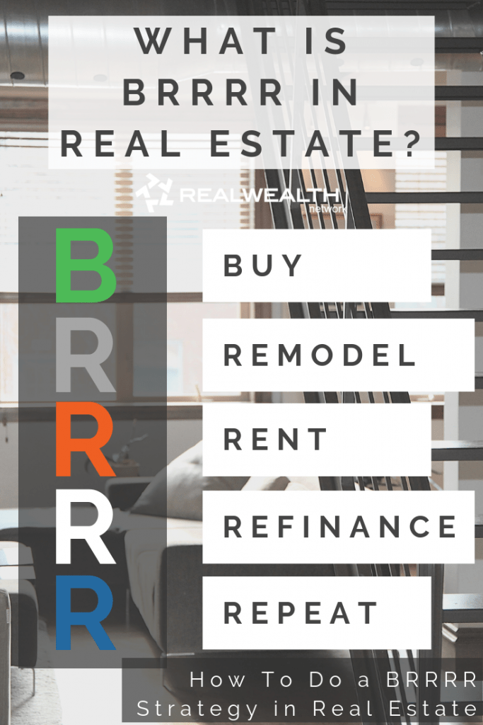 What is BRRRR in Real Estate