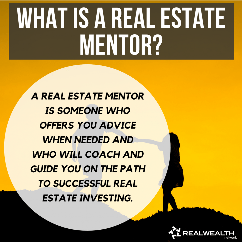 What is a Real Estate Mentor definition image
