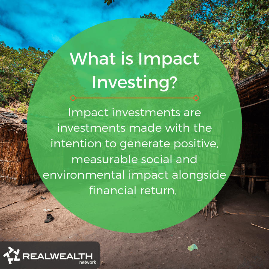 What is Impact Investing image