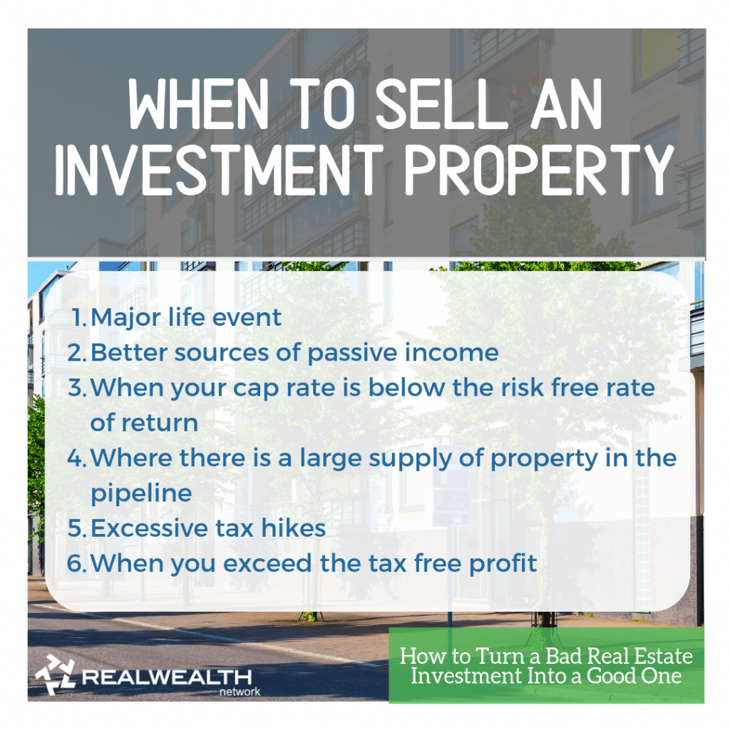 When to Sell an Investment Property