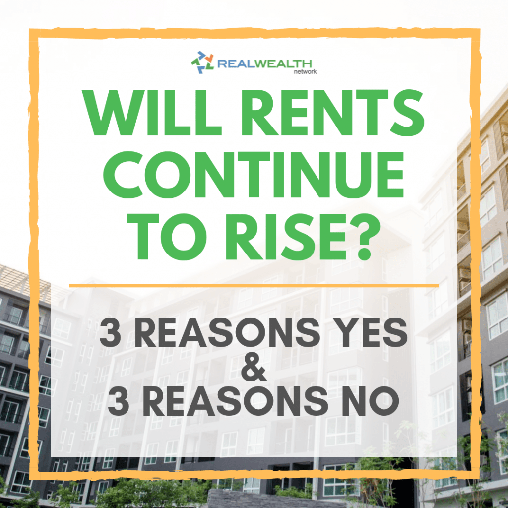 Will Rents Continue to Rise