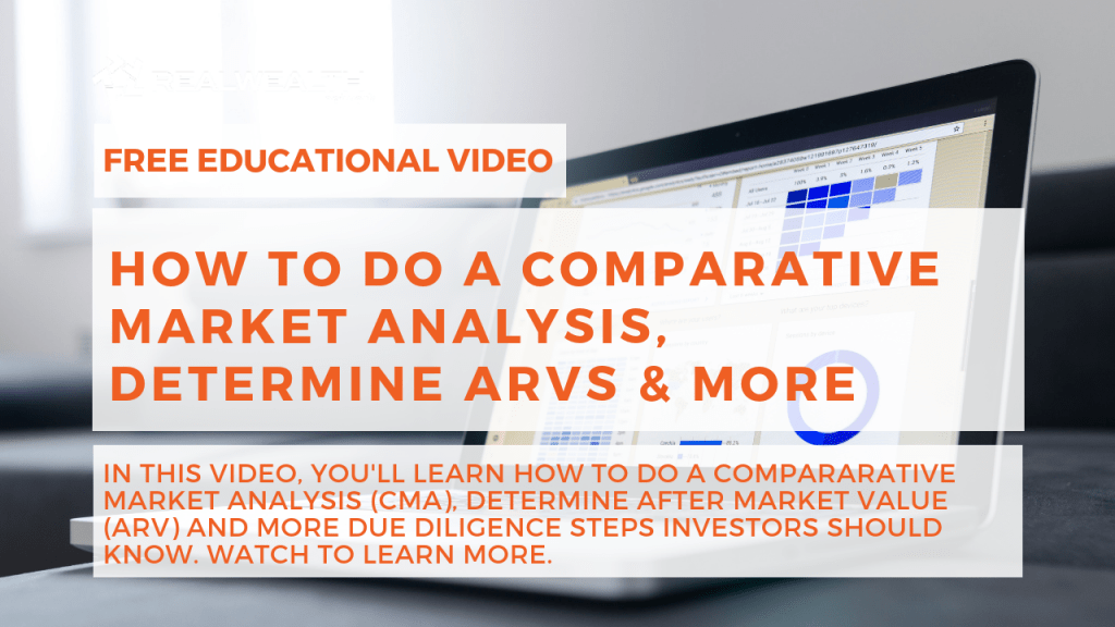 How To Do a Comparative Market Analysis, Determine ARVs & More