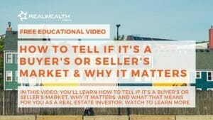 How to Tell if It's a Buyer's or Seller's Market Video
