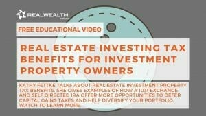 investment property tax benefits