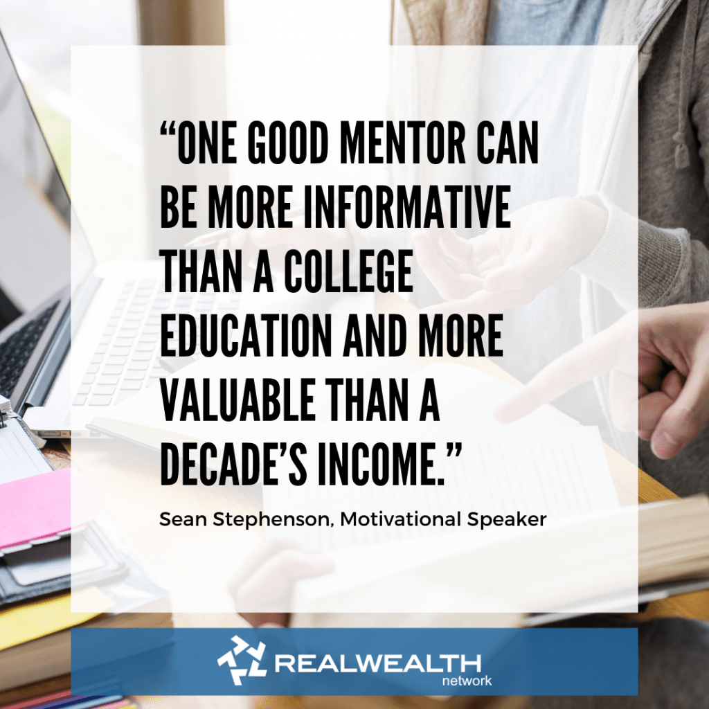 Mentor quote image