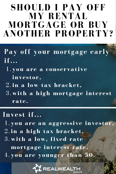 Should I Pay Off My Rental Mortgage or Buy Another Property