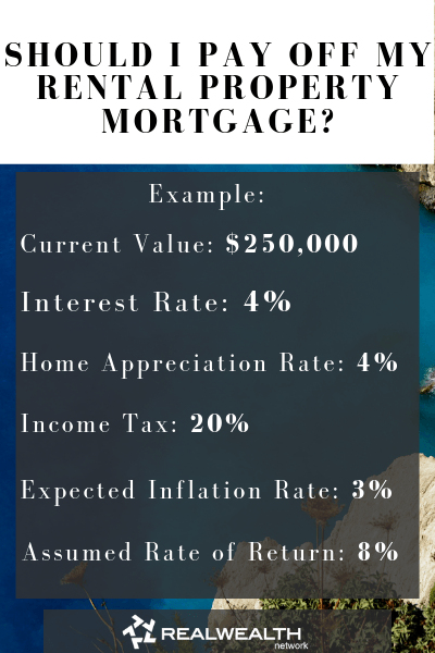 Should I Pay Off My Rental Property Mortgage