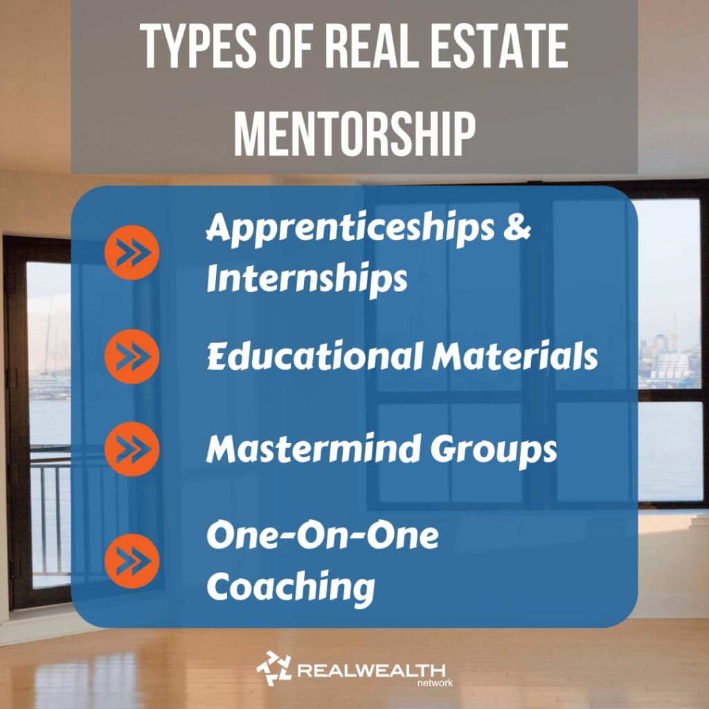 Types of Real Estate Mentorship