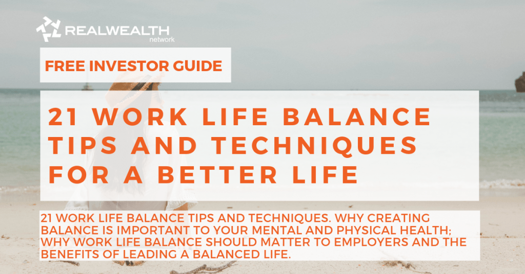 Work Life Balance Tips and Techniques for a Better Life Article